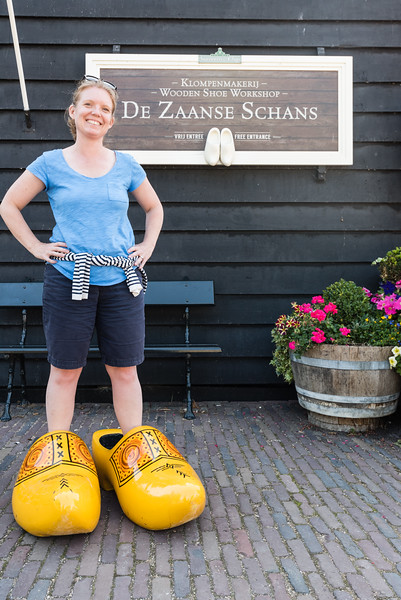 Day 14 - at klompen factory at Zaanse Schans with Osma & Rob, July 17th