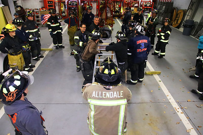 Allendale Mutual aid truck training 10-17-19