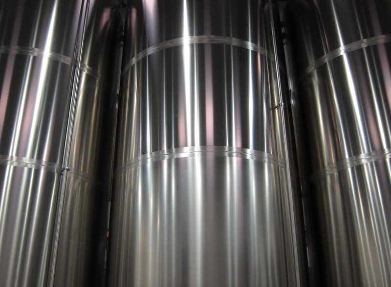 Tanks at Kingdom Breweries