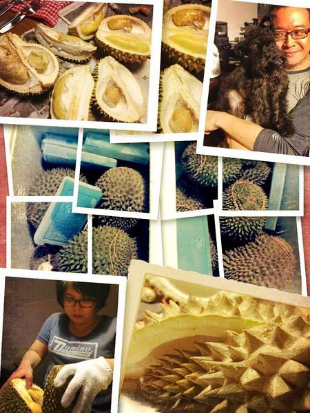 Durian Orgy @ Happy Malay...