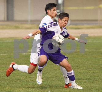 Shasta at PV Boys  Soccer NSCIF Final 2/28/2015