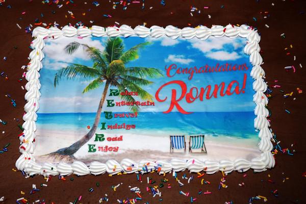 RONNA'S RETIREMENT - JUN 9, '17