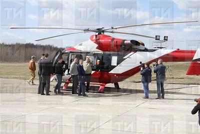 25.04.19 Передача вертолета Ми-8МТВ-1 авиакомпании Тувинские авиалинии (Александр Эшкинин)