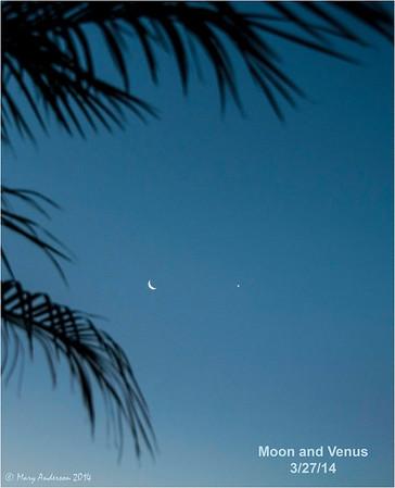 Moon and Venus 3/27/14