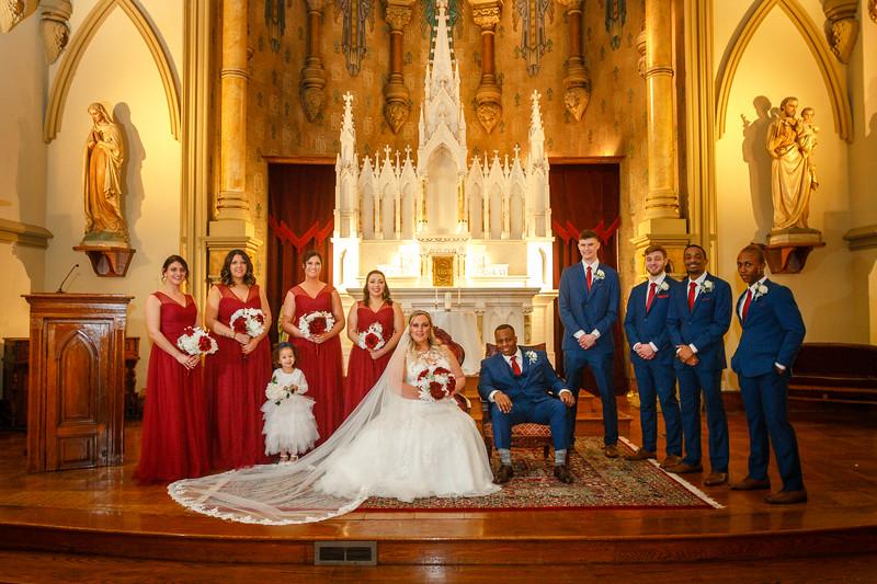 Hunter and Alyssa Wedding