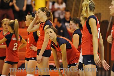 Volleyball Springville vs MMHS 2010