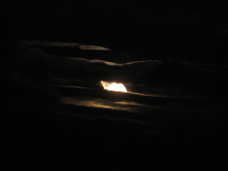 Partial Solar Eclipse 20110104
