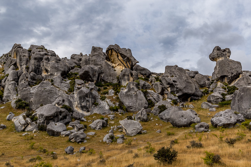 Kalkfelsen beim «Castle Hill»