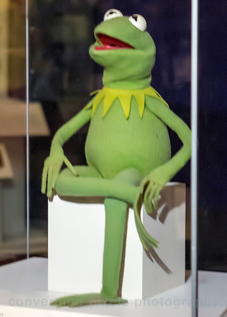 Kermit the Frog at the Smithsonian Museum of American History.