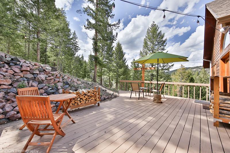 A Mountain Home Deck