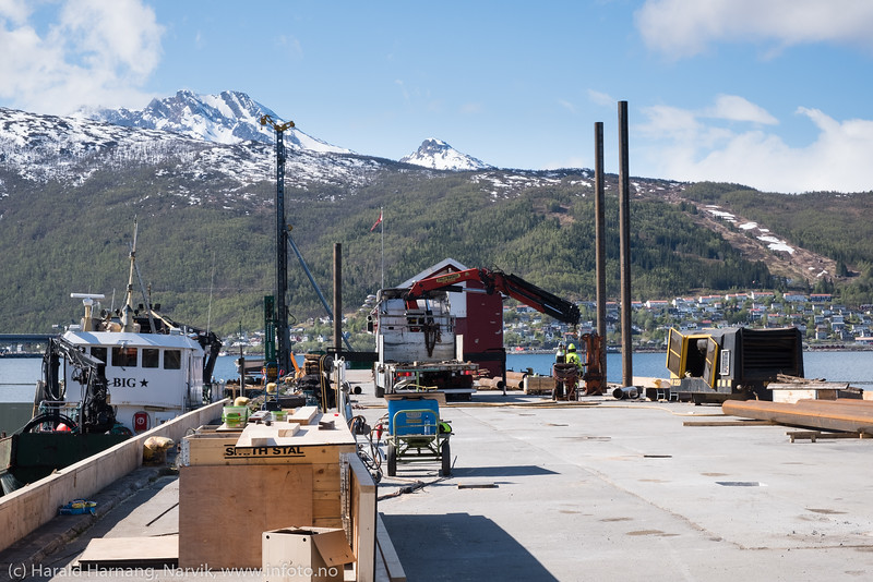 Cruisehavn bygging,  27. mai 2019