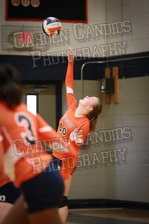 North Davie JV Volleyball vs Ellis 9-8-14