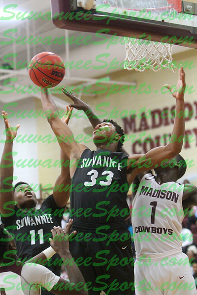 Basketball - 2019-20 - Boys - Suwannee vs Madison County - Unprocessed Pictures