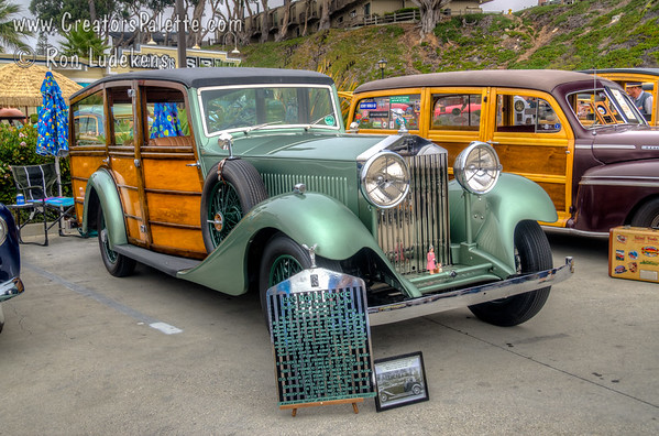 Morro Bay Harbor Festival - Woodies - 10-4-2015