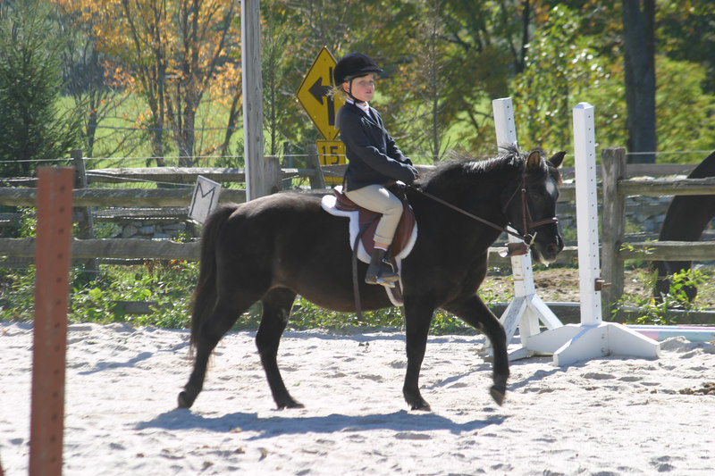 Gabrielle, one of the riders that sometimes trains with Anisa.