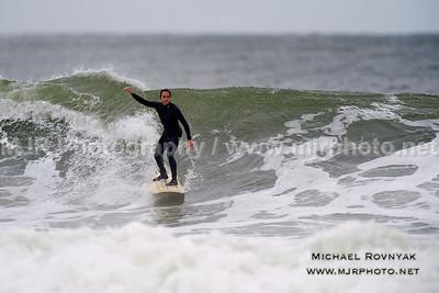 Surfing, L.B. West, NY, 10.28.12 Alex G