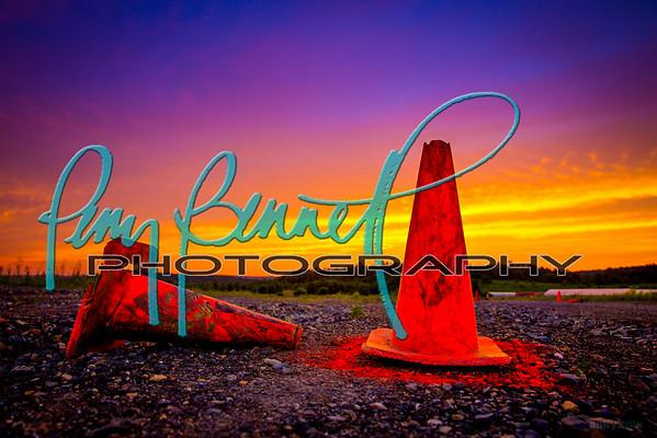 RallyX Sunset