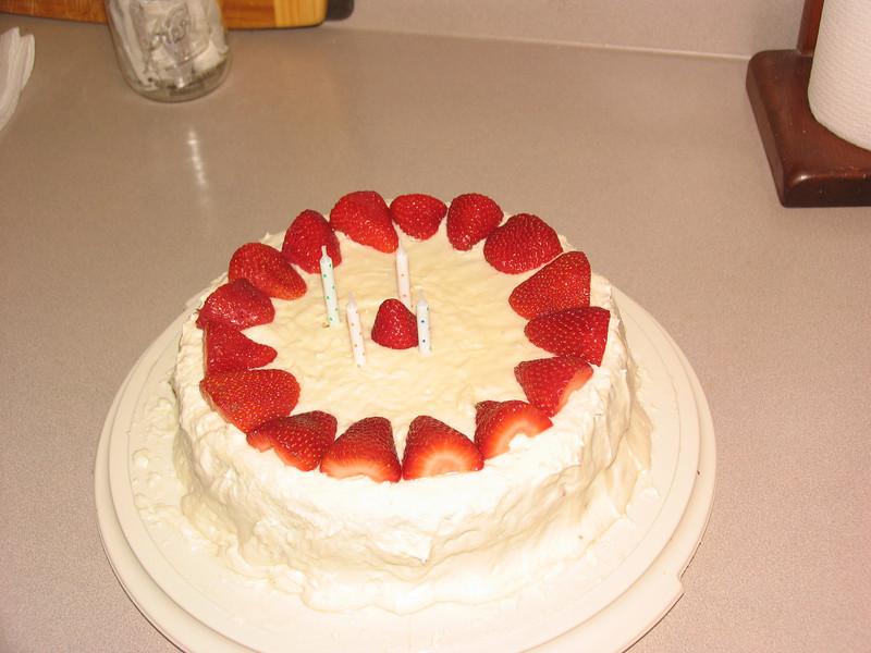 Birthday cake by Dad