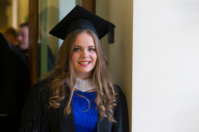 02/11/2018. Waterford Institute of Technology (WIT) Conferring Ceremonies 2018. Pictured is Michelle Ward Castlecomer. Picture: Patrick Browne