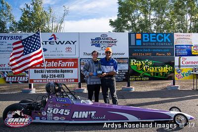 2017 Oahe Speedway Winners Circle - 09-04-2017