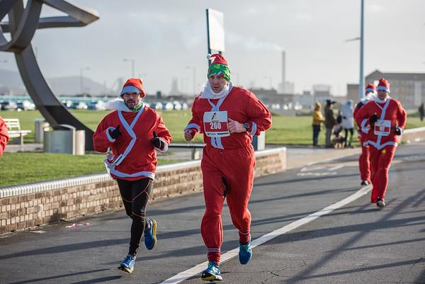 Run 4 All Neath Santa Dash 2019 - Lap 1