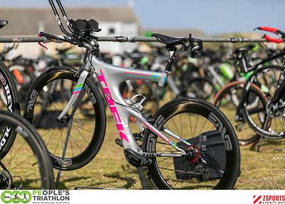 The 2020 PEople's Triathlon - Bike Check In