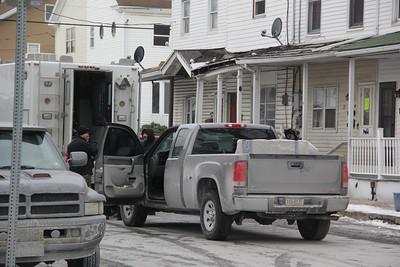 Police Raid Home, 29 East Elm Street, Tamaqua (1-31-2014)