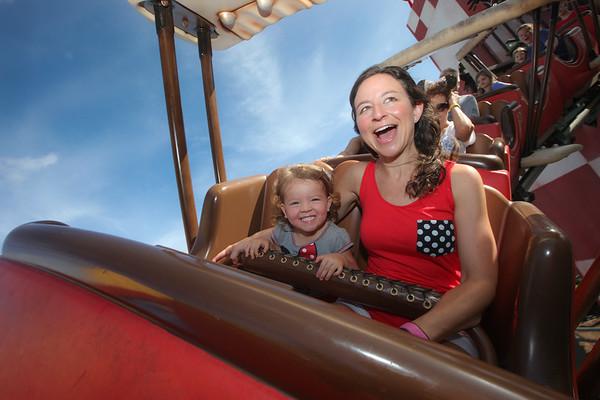 The Grimsley Family visit Disney