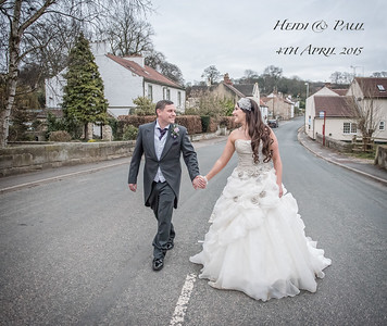 Heidi & Paul 4th April - Wentbridge House