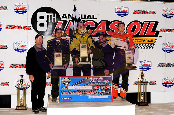 Late Model Nationals - IMCA Modifieds - October 1, 2011