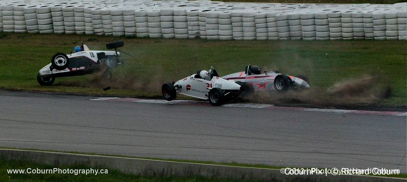 #18 Spencer Todd F1200 Incident