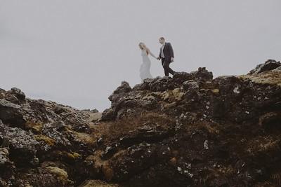 Lauren & Brian. Married.