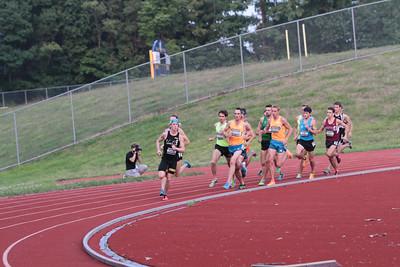 First Turn/Finish Line, Running Institute Ron Warhurst Men's Mile - 2014 Michigan Track Classic -john