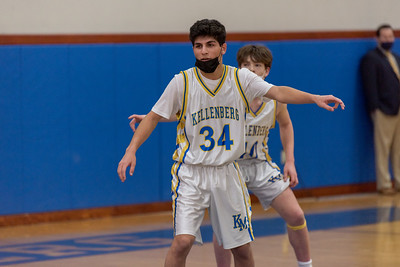Boys Junior Varsity Basketball - 2021