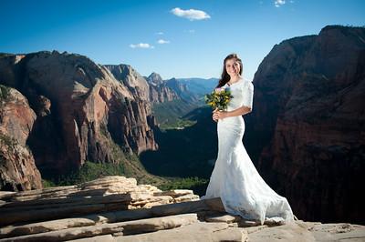 Shenay {Angel's Landing bridals}