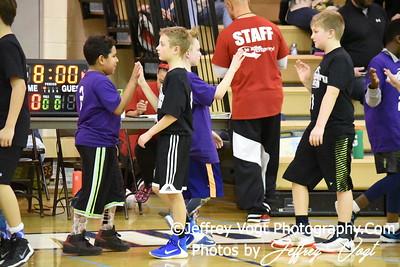 01/21/2017 4th Grade Boys Basketball Coach Mann, Photos by Jeffrey Vogt Photography