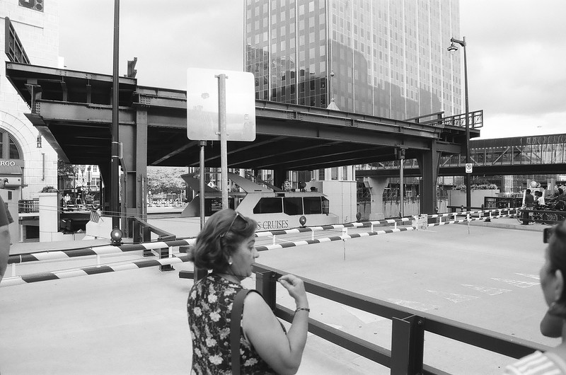 Unedited 35mm Black and White Film Proofs of Milwaukee 4