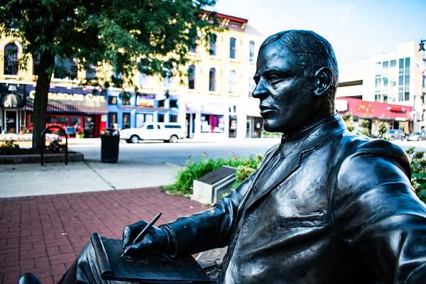 Max Ehrmann Statue