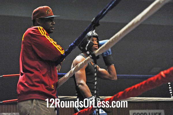 Bout 10 = Main Event Po Po Salinas, Youngstown -vs- Lavell Briggs, Cleveland