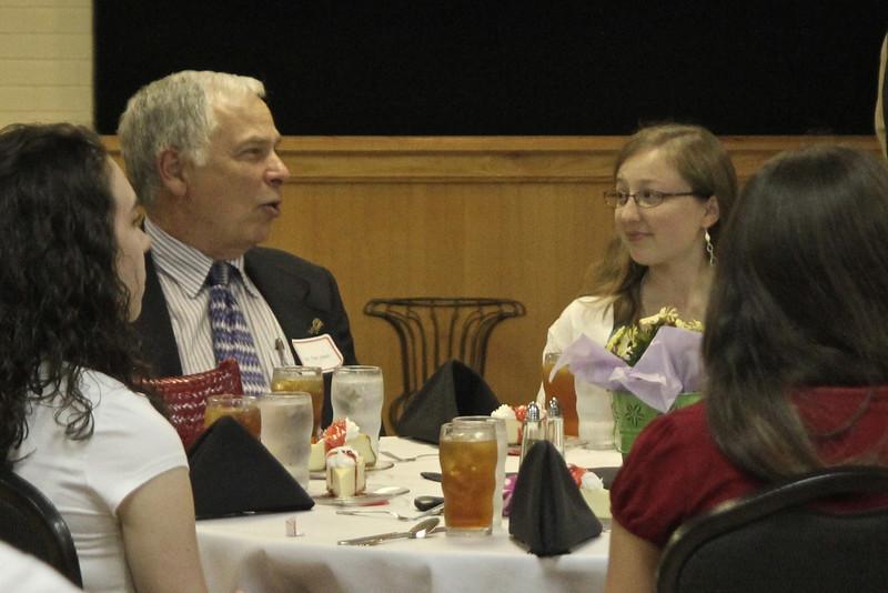 Chelsea Usher and her mentor Dr. Tom Jones