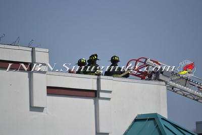 West Islip F.D. Sign Fire 3-26-12