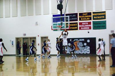 01/16/2010 BHS Boys Basketball - Butler VS Mt. Tabor