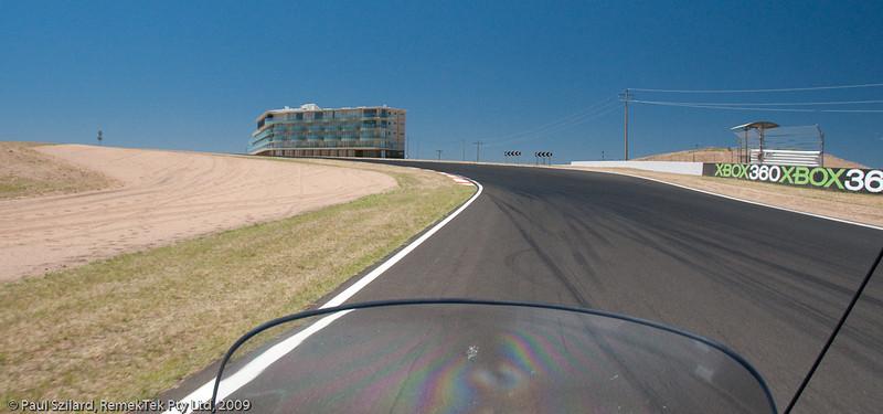 Ulysses Ride to Bathurst Mount Panorama track
