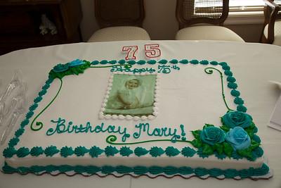 Mary's 75th Birthday Party