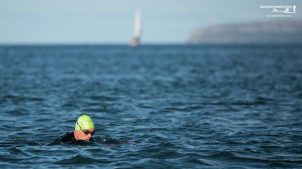 Tîm Irfon - Beaumaris to Bangor Straits Swim - The Crossing