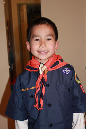Pack 222 Cub Scouts!