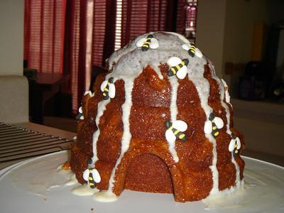 Beehive Cake - June 2007