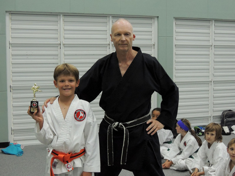 Student of the Month Oct 2012 and Grading 070.JPG