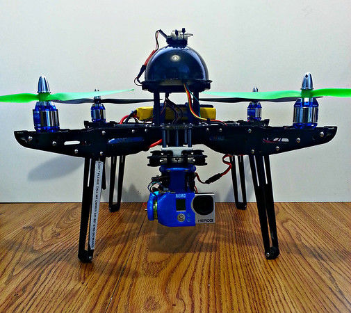 Multi Rotor HD Video system