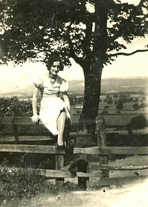 1934 - Mam on the Fence